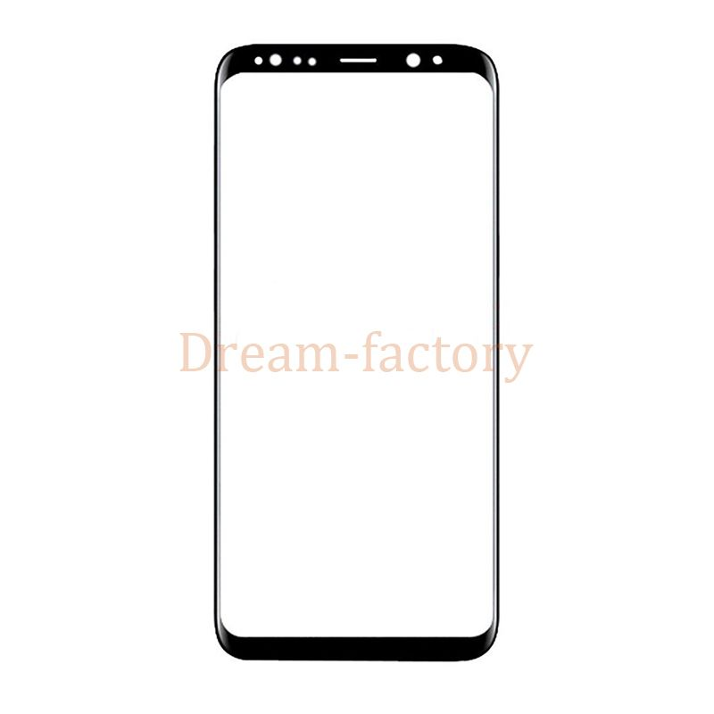 20pcs for Samsung Galaxy S8 Plus G955 Front Outer Touch Screen Glass Lens Replacement for Galaxy S8 G950 free DHL