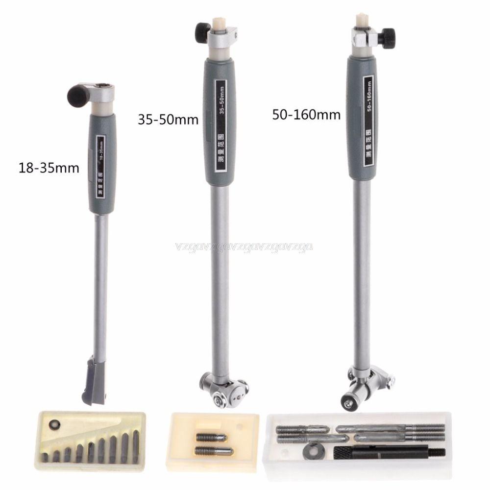 Inner Diameter Gauge Measuring Rod + Probe (no indicator) Accessories Inner diameter gauge