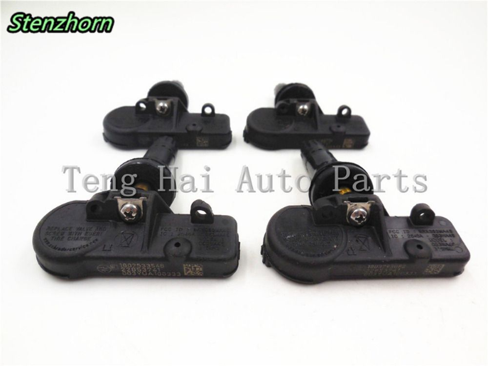 Stenzhorn (x4)22853741 Schrader TPMS For BUICK CADDILAC Chevrolet GMC Hummer 315MHZ RDKS