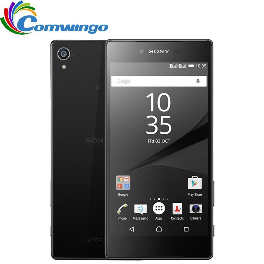 Original Sony Xperia Z5 Premium E6853 Einzelne Sim Entsperrt GSM 4G LTE Android Octa Core RAM 3 GB ROM 32 GB 5,5 IPS 23MP WIFI GPS