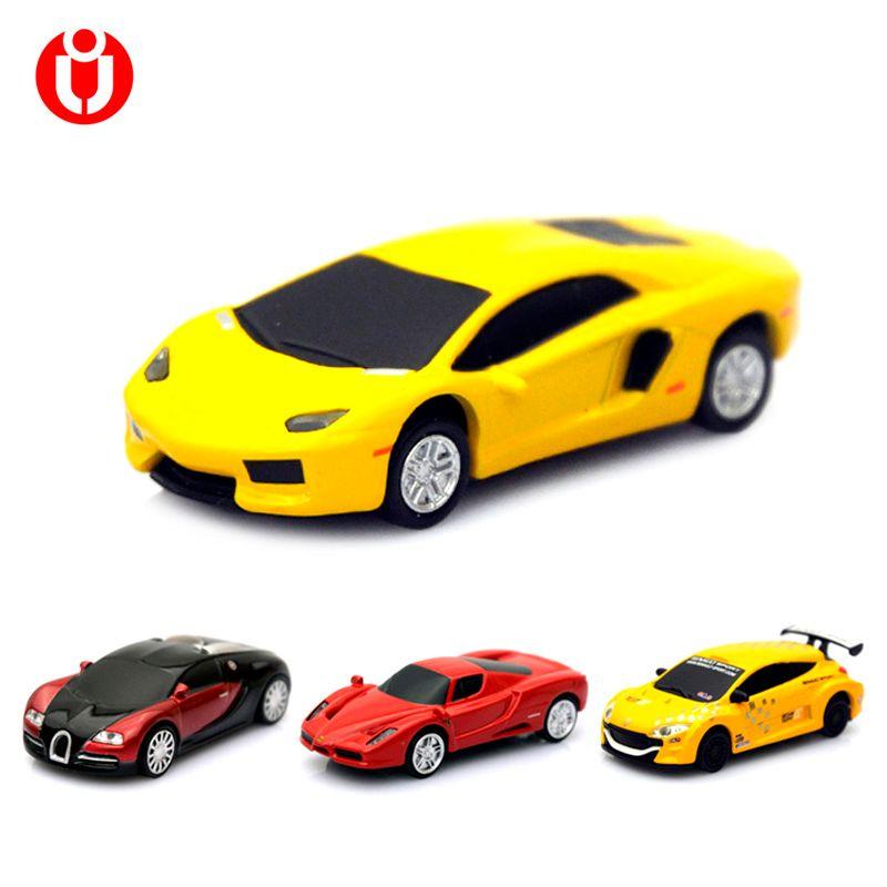 En gros Vente Chaude Véritable 8 gb 16 gb 32g USB Flash Drive Pen Drive Bâton Racing modèle, modèle de voiture Pen drive 32 gb, Pouce/Voiture/Cadeau