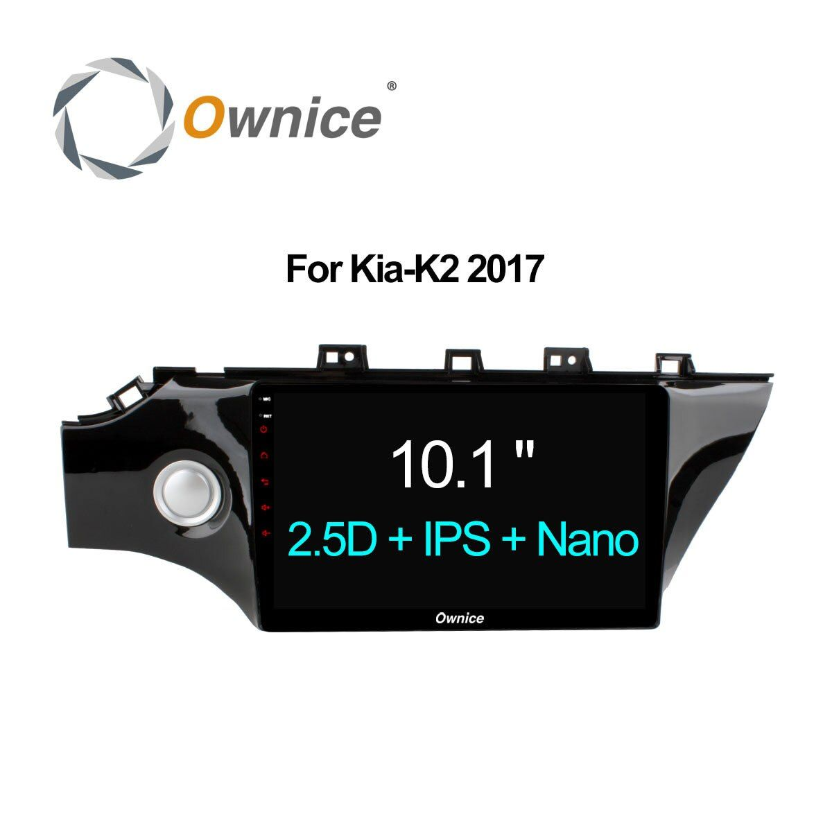 Ownice C500+ 2 din Car radio IPS 2.5D for 2017 Kia K2 Octa Core Android 6.0 car dvd player GPS navigation with 2G RAM , 32G ROM