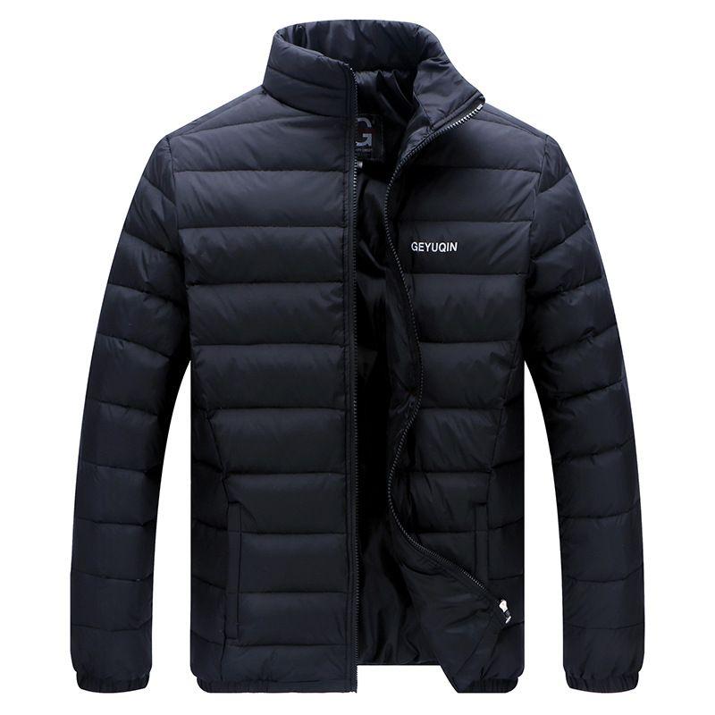 Big Size 2017 White Duck Down Men's Winter Jacket Ultralight Down Jacket Casual Outerwear Snow Warm Fur Collar Brand Coat Parkas