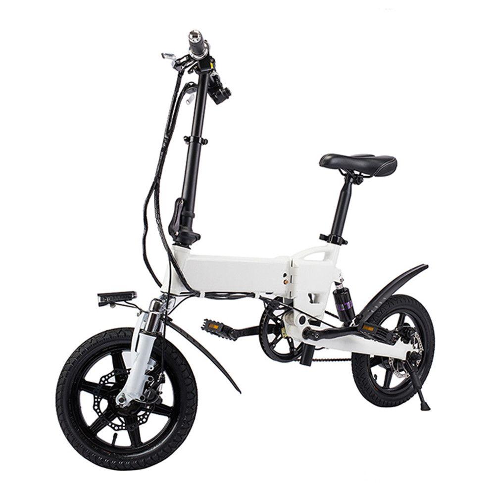 Kostenloser Versand Smart Bike Elektro Fahrrad Faltbare Moped Fahrrad 250 watt 5.2Ah Batterie/EU Stecker/mit Doppel Disc bremsen