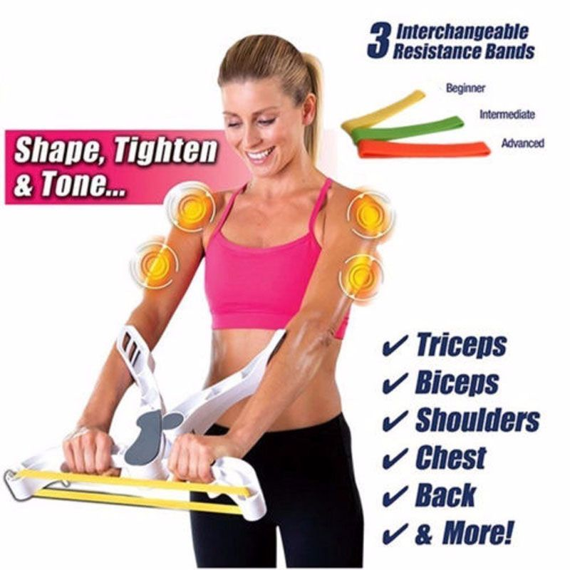 2018 Fitness Equipment Rally Muscle Traine Useful Wonder Arms Upper Body Arm Workout Fitness Machine As Seen On TV Out