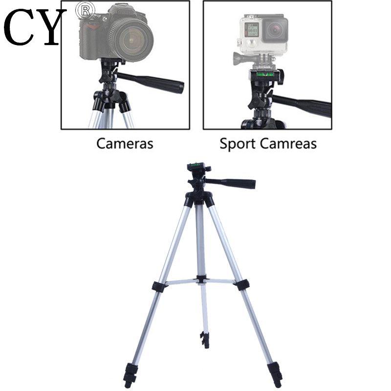 Trépied d'appareil Photo en alliage d'aluminium pour Gopro Fuji Canon Sony Nikon léger Mini trépied support d'appareil Photo trépied Gorillapod Tripe