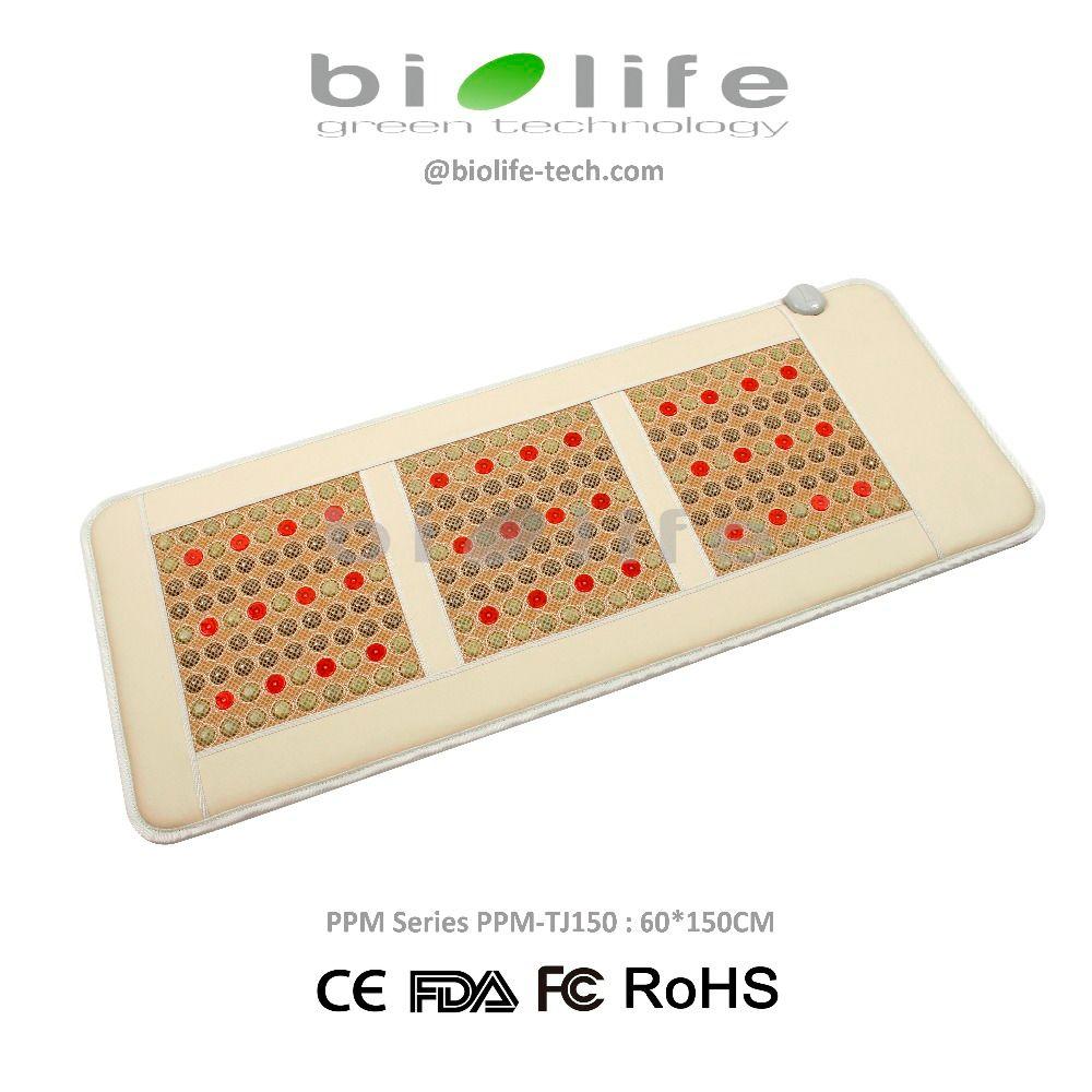 NON-EMF 60*150cm High-End Healing PEMF & Photon Good Infrared Bio Energy VLF Tourmaline Jade Therapy Mat