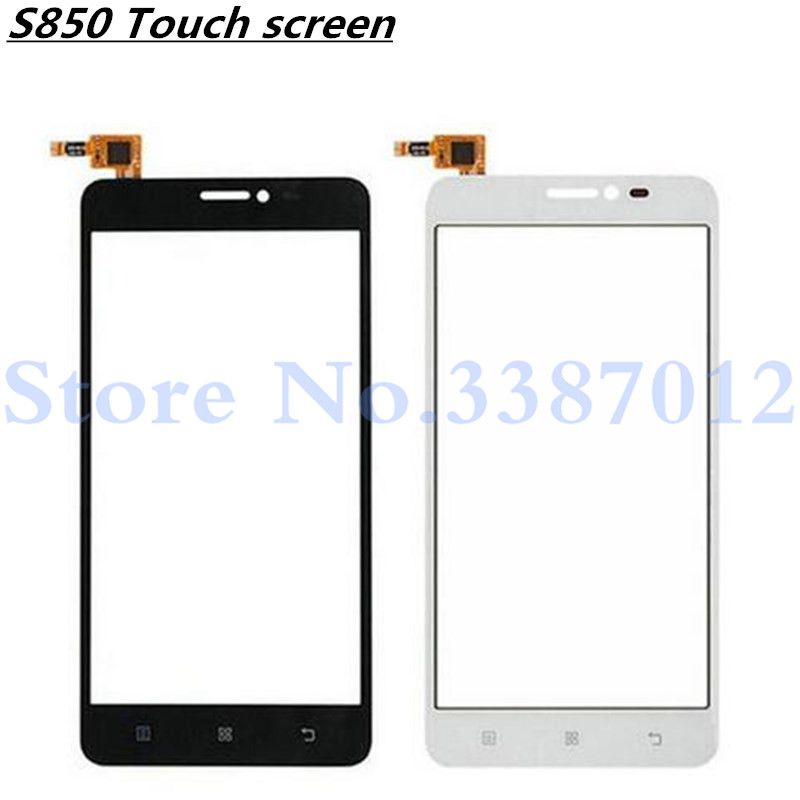 5.0'' Replacement High Quality For Lenovo S850 S 850 Touch Screen Digitizer Sensor Outer Glass Lens Panel