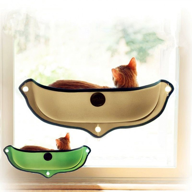Pet Beds For Cat House Bed Set Cat Bed Removable Cat Window Hammock Bed For Window Mount Lounger Pet House Hot Sale Dropshipping