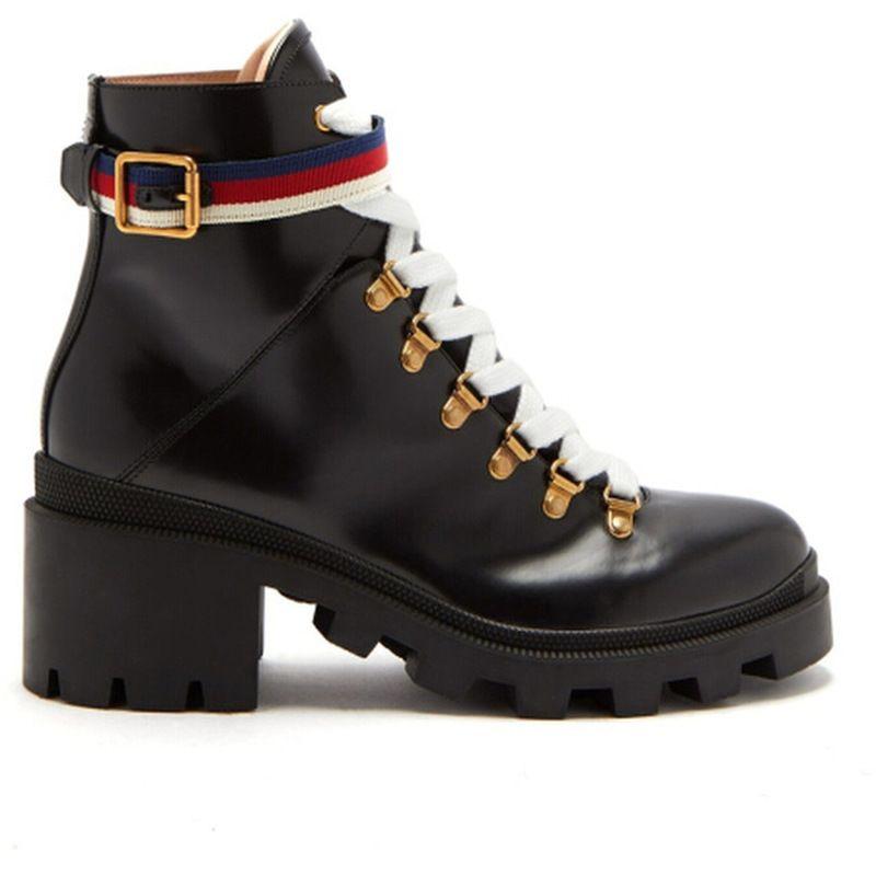 Genuine Leather Short Boots Winter Autumn British Retro Boots Women's Short Barrel Chelsea Single Boots Luxury Shoes