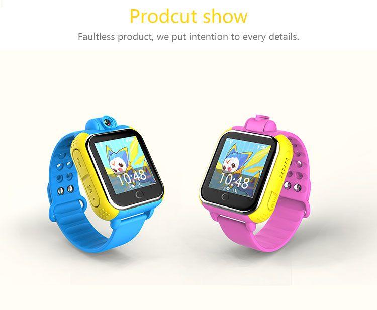 GPS reloj inteligente reloj Q730 bebé con Wifi 1.0 pulgadas táctil Dispositivo de Localización de Llamadas pantalla SOS Perseguidor de Seguros para Niños iOS Android