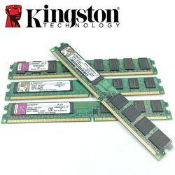 Kingston Desktop PC Memory RAM Memoria Module 800 DDR2 PC2 6400 2GB 4GB(2PCS*2GB) Compatible DDR2 800MHz / 667MHz 1GB DDR 2 800