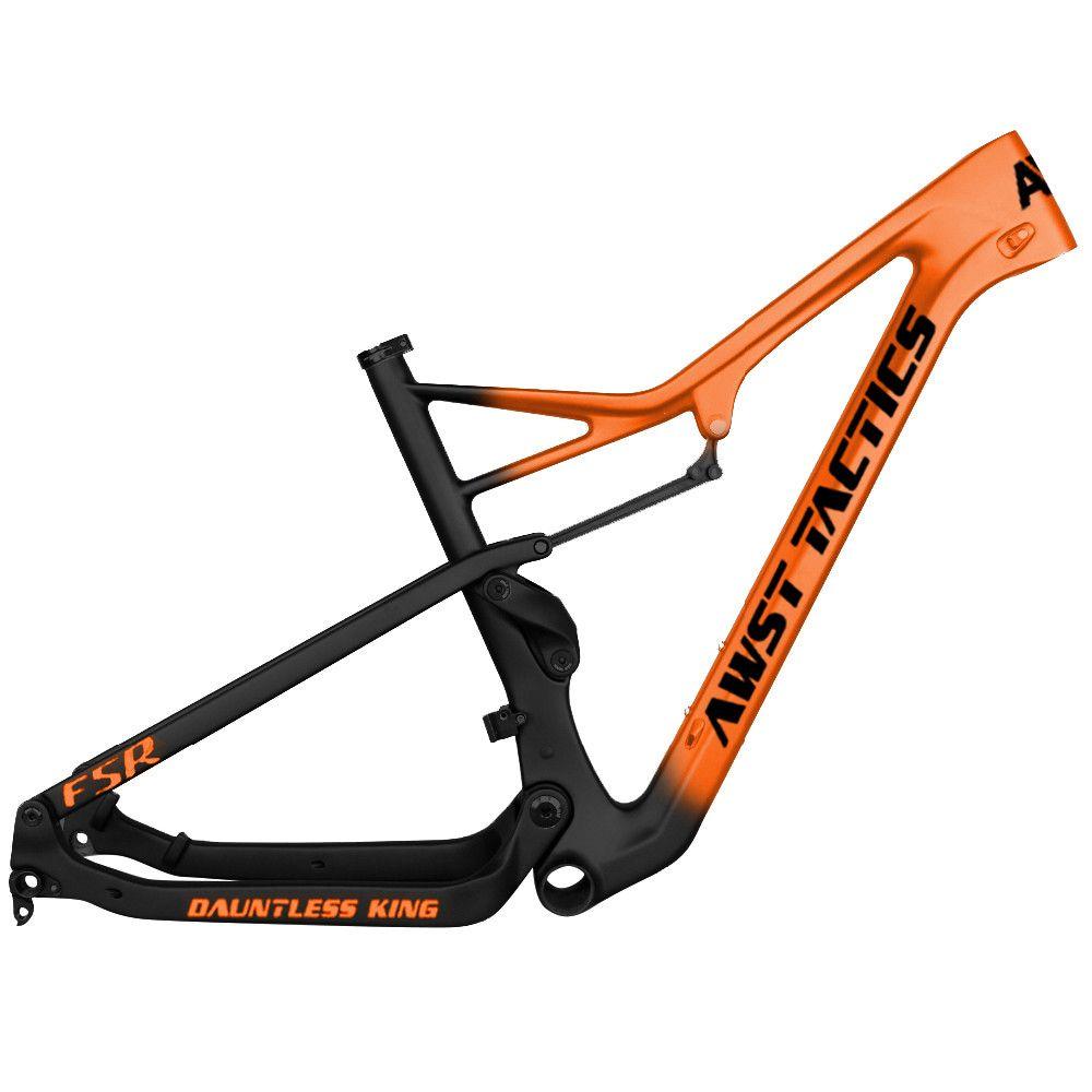 Full Suspension Carbon MTB Rahmen 29er Mountainbike 148*12mm Steckachse Carbon mtb rahmen Full Suspension mountain fahrrad rahmen