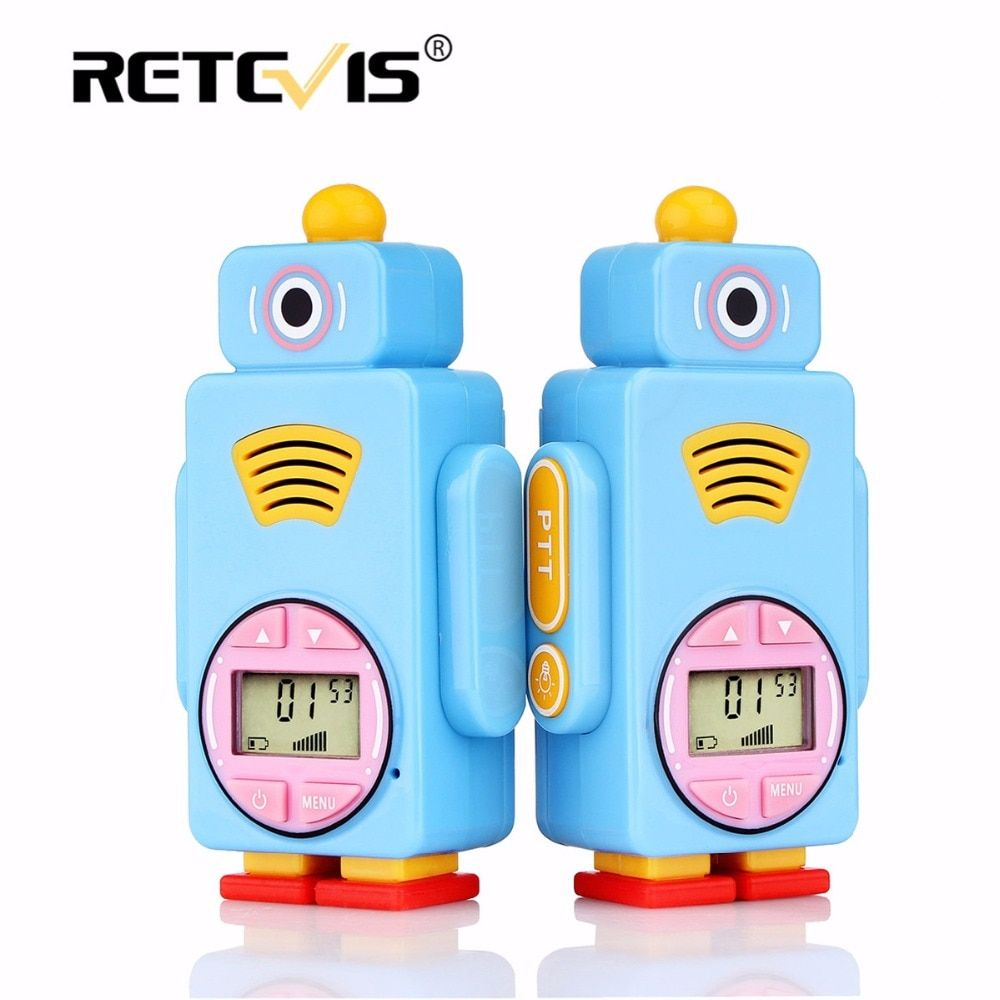 2pcs Retevis RT36 Mini Walkie Talkie For Kids 0.5W 8/14CH VOX PTT Flashlight Micro USB Charge Child Toy Birthday/Christmas Gift