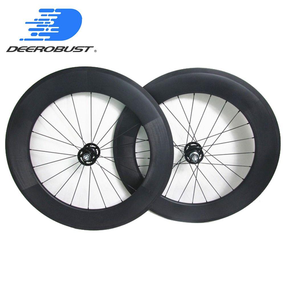 TRACK 700C 88mm Klammer Carbon Fixed Gear Vorne und Hinten Fahrrad räder Fahrrad laufradsatz, novatec Track naben 20 24 Löcher UD 3 karat 12 karat