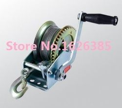 600lbs--800LBSx10M Boat truck auto hand manual winch, hand tool lifting sling