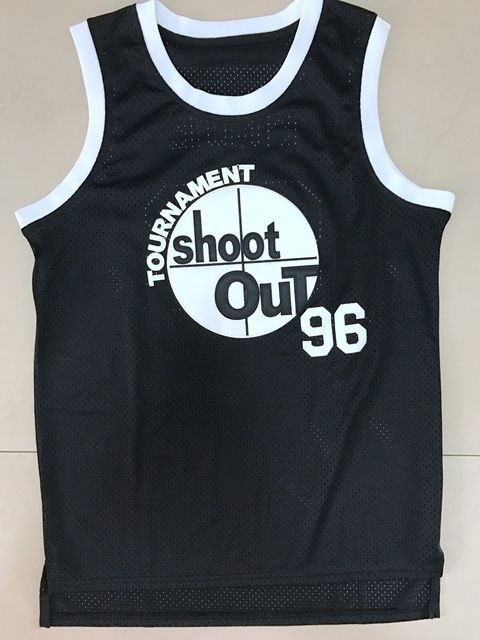 Tupac Shakur Birdie #96 Above The Rim Basketball Jersey All Stitched Movie Basketball Jersey