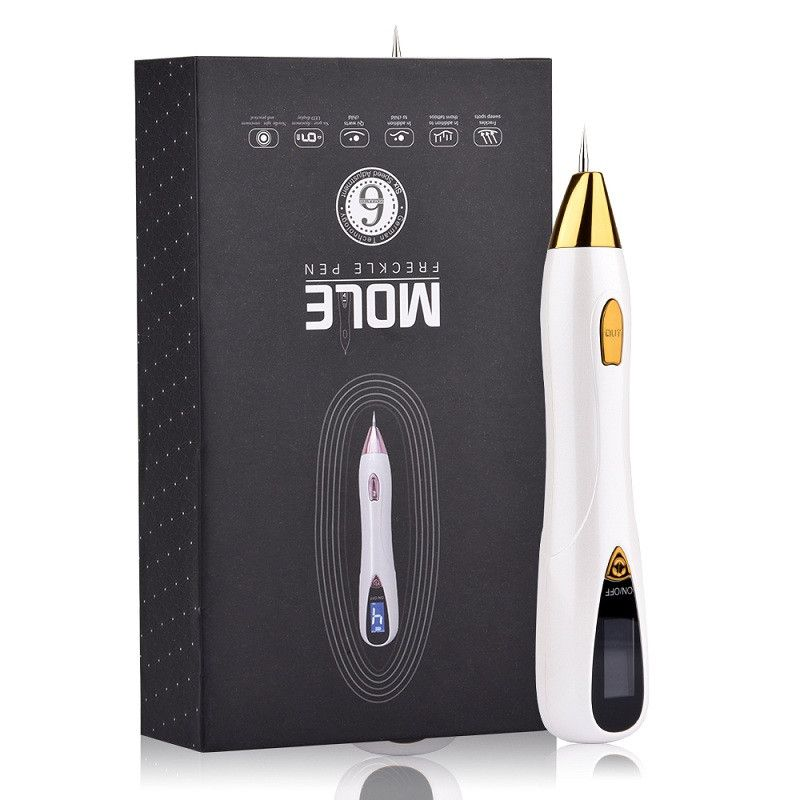 Skin Care Laser Mole Tattoo Freckle Removal Pen LCD Sweep Spot Mole Removing Wart Corns Dark Spot Remover Salon Beauty Machine