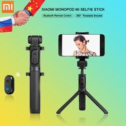 Original Xiaomi Monopod Mi Selfie Stick Bluetooth Tripod With Wireless Remote Foldable Self-stick for iphone 5s 6 7 Mi6 Andriod