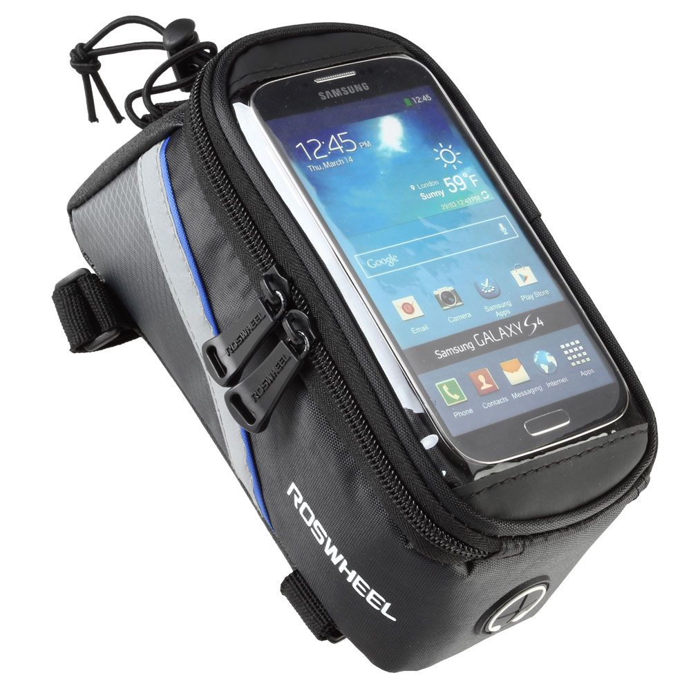 Roswheel Bike Bag Cycling Bicycle Bag Pollice Gps Sacchetto Pacchetto Telefono Cellulare Touch Screen Phone Rainproof Nylon Bags