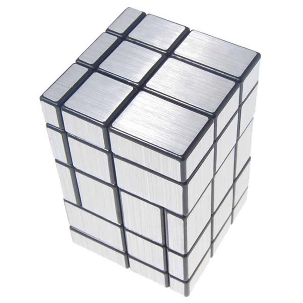 Новинка 2017 года 3x3x5 Сиамские Зеркало Magic Cube черный, серебристый цвет развивающие игрушки специальные Игрушечные лошадки