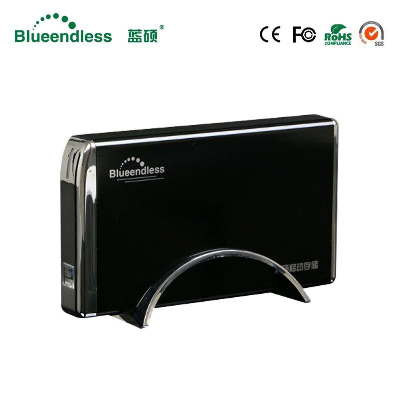 Blueendless IDE Sata kompatibel 3,5 zoll 2,5 ''hdd fall aluminium festplatte caddys USB 2.0 ssd hdd gehäuse anzug win 7/8/8,1/10