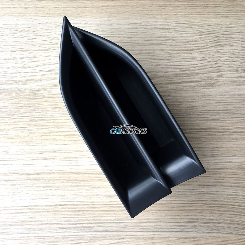 Carmonsons Front Door Handle Armrest Storage Box for Peugeot 3008 5008 GT 2017 Container Holder Tray Accessories Car Styling