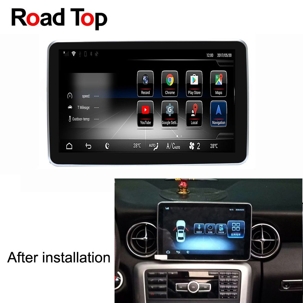 9 Android 5.1 Car Radio GPS Navigation WiFi Bluetooth Head Unit Screen for Mercedes Benz 2011-2015 SLK 200 250 300 350 55 AMG