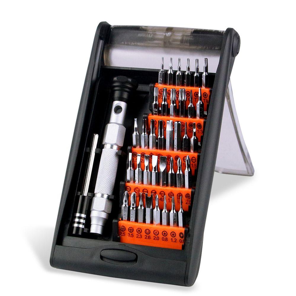 JAKEMY JM-8151 38 dans 1 Portable Matériel outils à main Ensemble jeu de tournevis de précision Multifonction Tablet téléphone pc outil de réparation Kit
