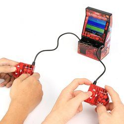 183 in 1 Mini Double Hand-held Gaming Console Games Device Retro Style Mini Classic Arcade Machine Support TF Card