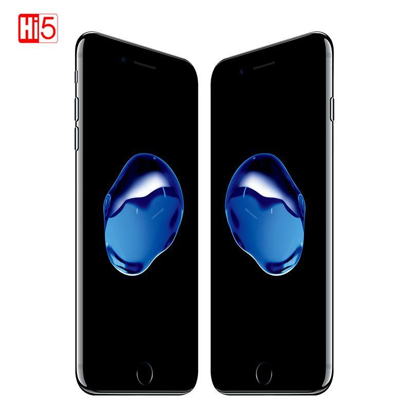 Débloqué Apple iphone 7 IOS 2GB RAM 32/128 GB/256 GB ROM LTE 12.0MP caméra Quad-Core empreinte digitale téléphones portables d'origine iphone 7