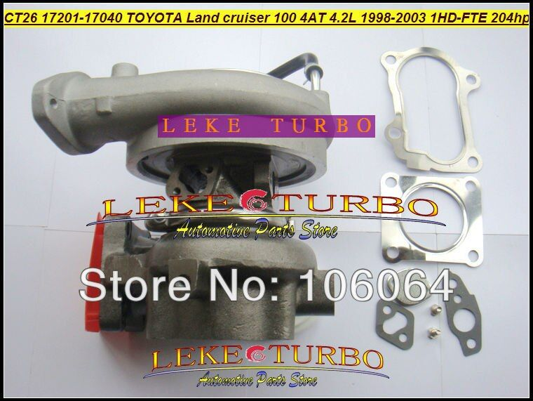 Free Ship CT12B 17201-17040 17201 17040 Turbo Turbocharger For TOYOTA LandCruiser Land Cruiser HDJ100 98-03 Coaster 1HD-FTE 4.2L