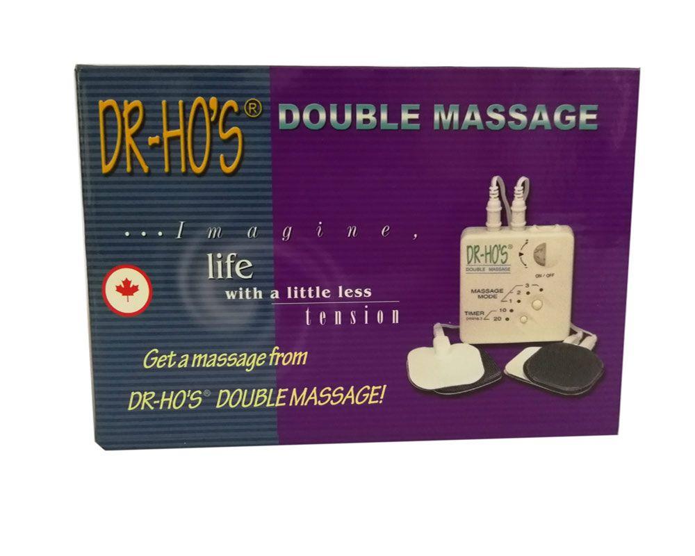 Livraison gratuite DR HO'S Double Double Massage Musculaire Thérapie Système Dr. Ho de La Douleur Soulager