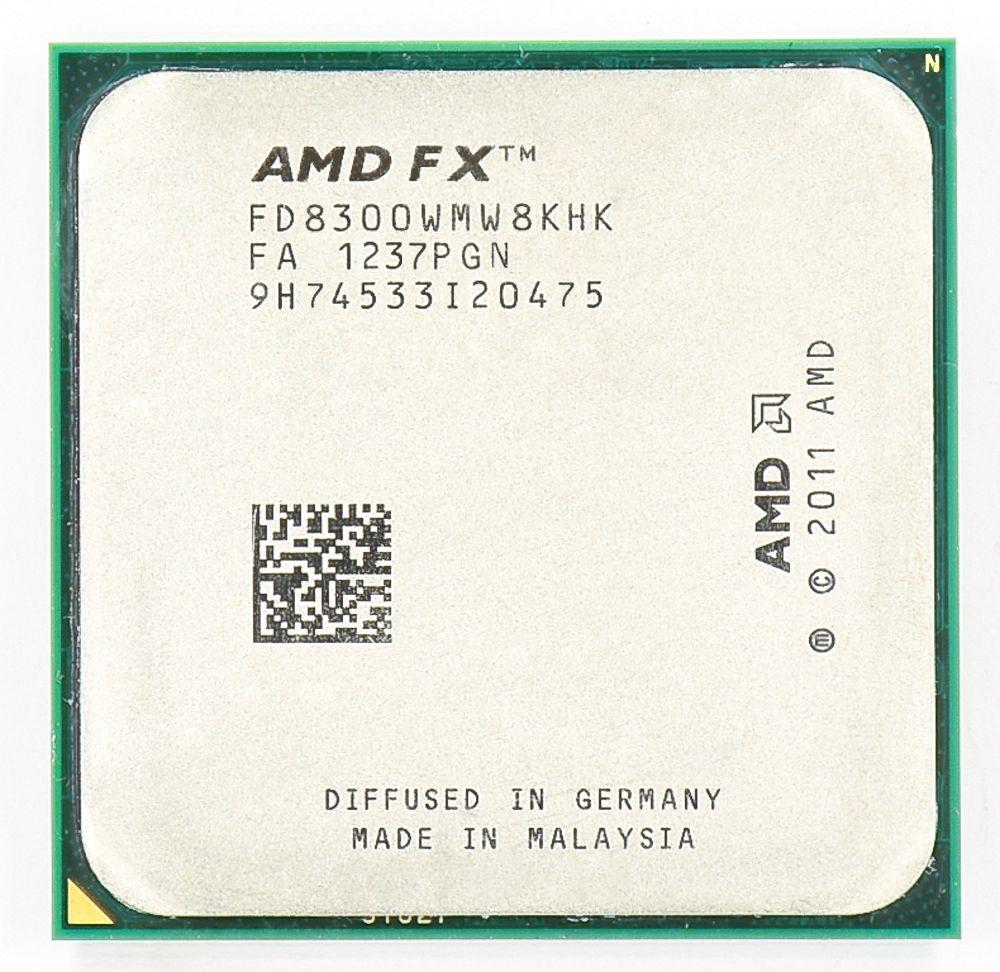 AMD FX 8300 AM3 + 3,3 GHz/8 MB/95 Watt Acht Kern CPU prozessor