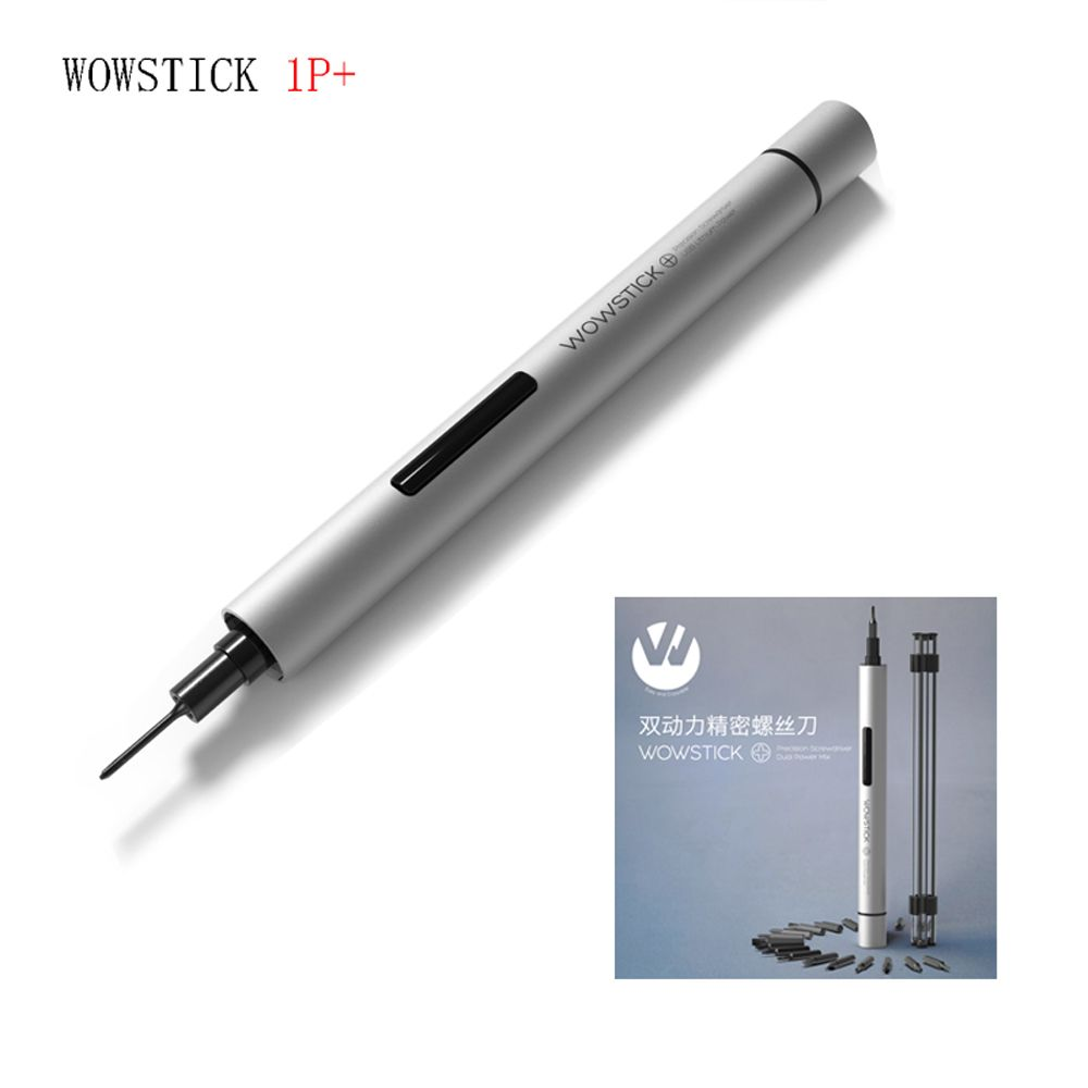 Wowstick 1fs 1p Electric torque 0.3 N.m Mini Electric Screwdriver 18 Pcs Bits For smart home kits