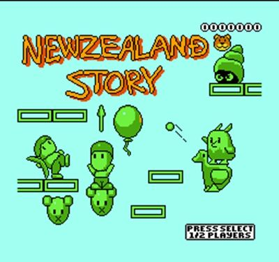New Zealand Story   60 Pin Game Card For 8 Bit Subor Game Player