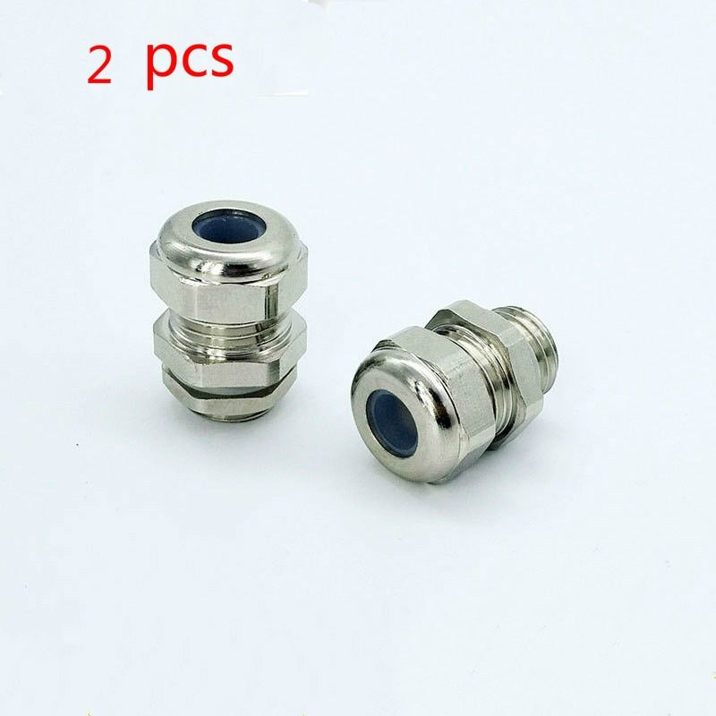 Thermowell nipple stainless steel thread M8X1.25 3-5mm Silicone seal