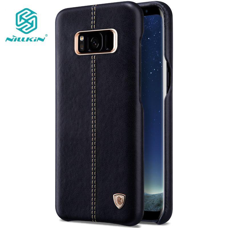 NILLKIN Englon couverture en cuir Pour Samsung galaxy S8/s8 plus capa luxe Vintage PU Étui En Cuir pour galaxy note 8 livraison gratuite