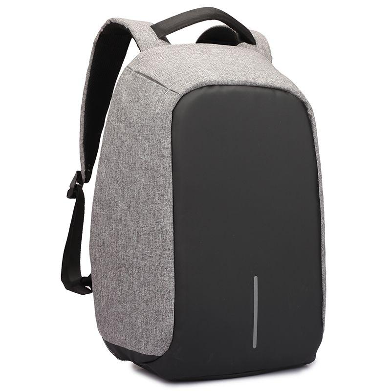 Для мужчин рюкзак anti theft многофункциональный Оксфорд Повседневное ноутбук рюкзак с USB зарядка Водонепроницаемый дорожная сумка мешок компь...