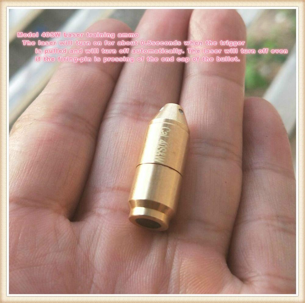 40 s & W mit 50 msek verzögerung Laser Ammo, Laser Kugel, laser Patrone für Trockene Feuer ausbildung und schießen simulation