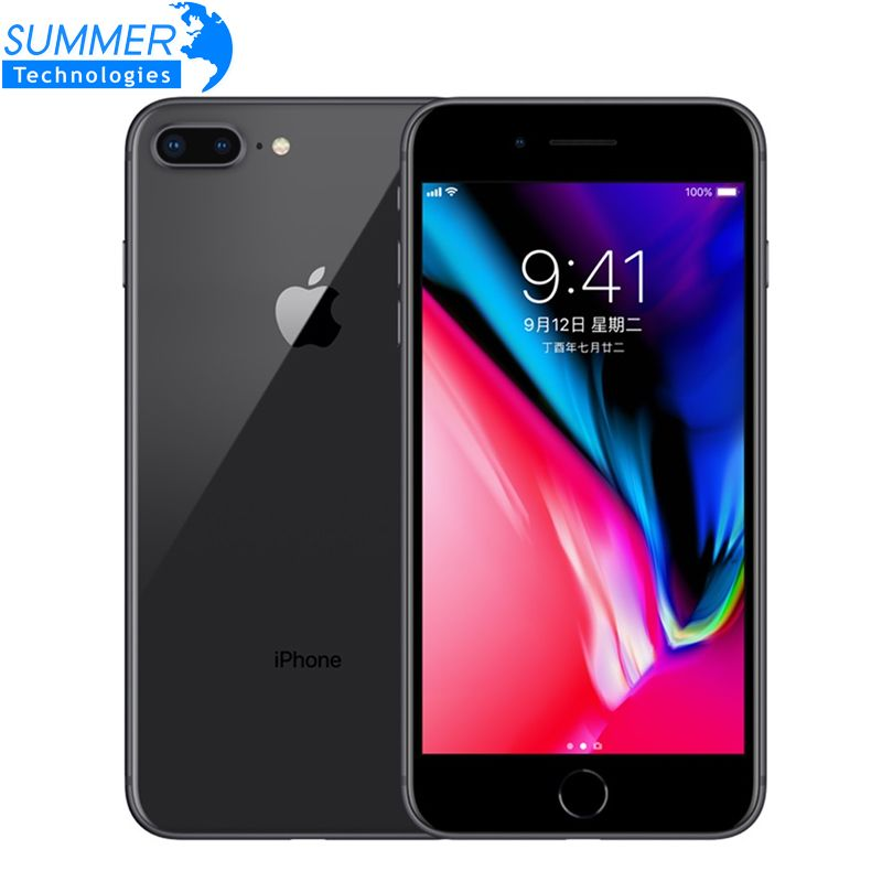 Original Entsperrt Apple iPhone 8 Plus LTE Handy 3 GB RAM Hexa Core 12.0MP 5,5