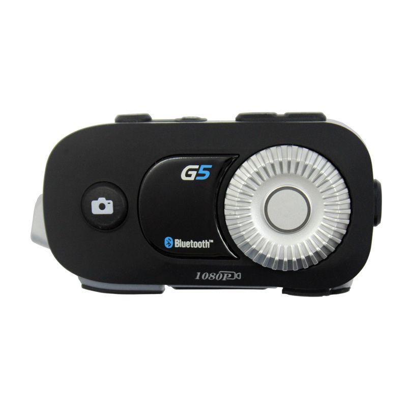 AiRide G5 500 mt 4 Fahrer Gruppe Intercom HD 1080 p Video Recorder Kamera Motorrad Bluetooth Helm Headset Für Fulll gesicht Helm