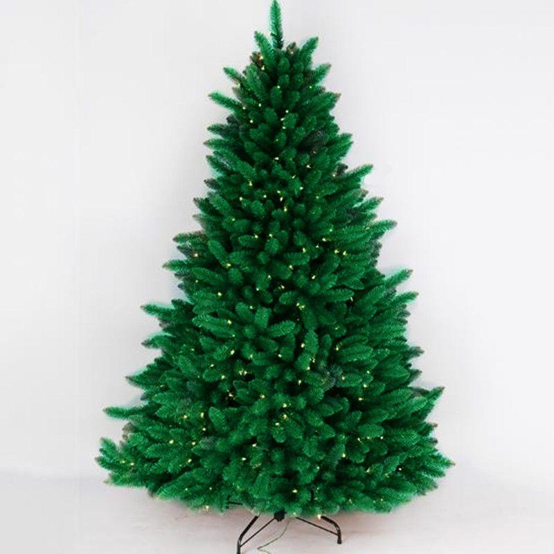 1.2 m - 2.4 m luminous Christmas tree PVC leaves Christmas mall festival layout decoration