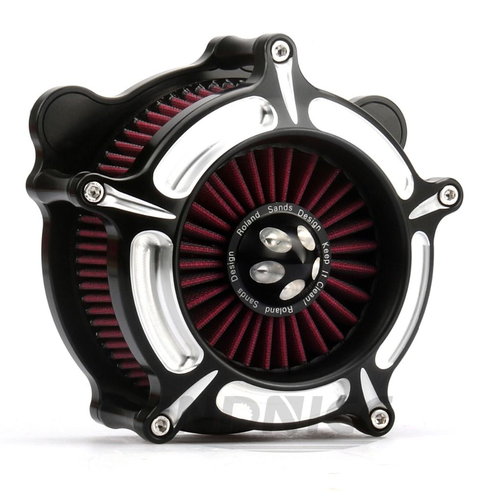 For harley Electra Glide air intake for Harley Softail Touring FLHR Fat Bob Dyna Softail Heritage Street Glide 1993-2015