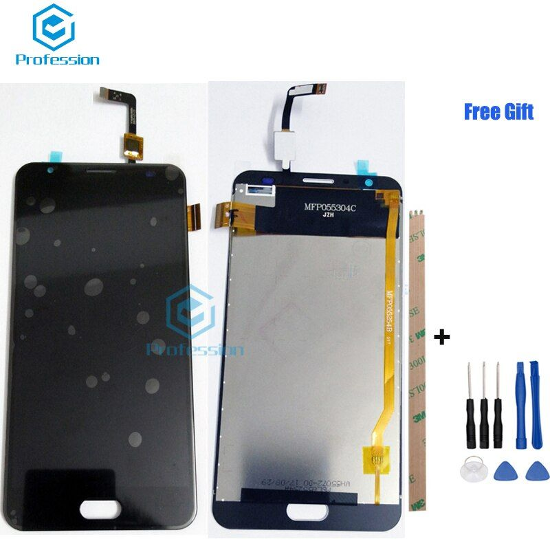5.5 For Original <font><b>Ulefone</b></font> Power 2 LCD Display and Touch Screen Screen Digitizer Assembly Repla cement Tools+Adhesive Android 7.0