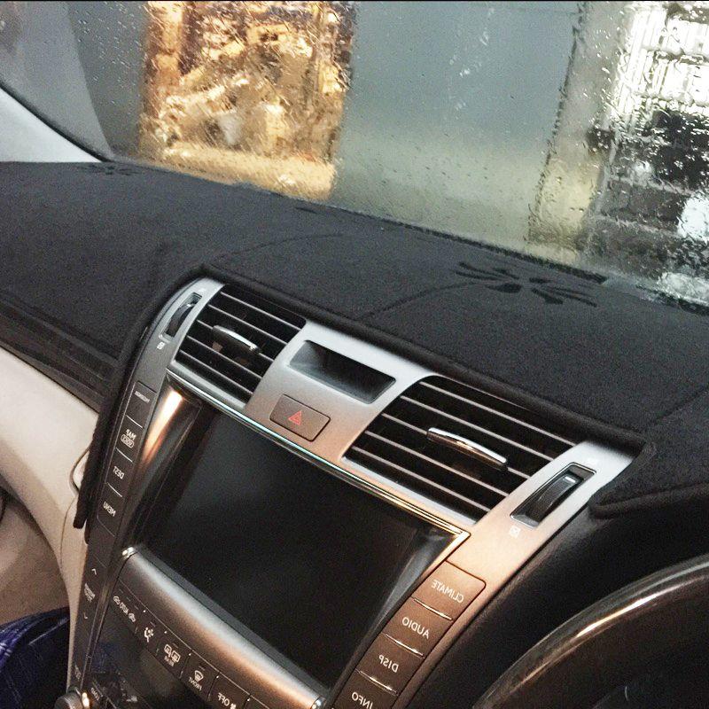 Dashmats auto-styling zubehör armaturenbrett abdeckung für lexus LS460 LS600L LS600H 2006 2007 2008 2009 2010 rhd