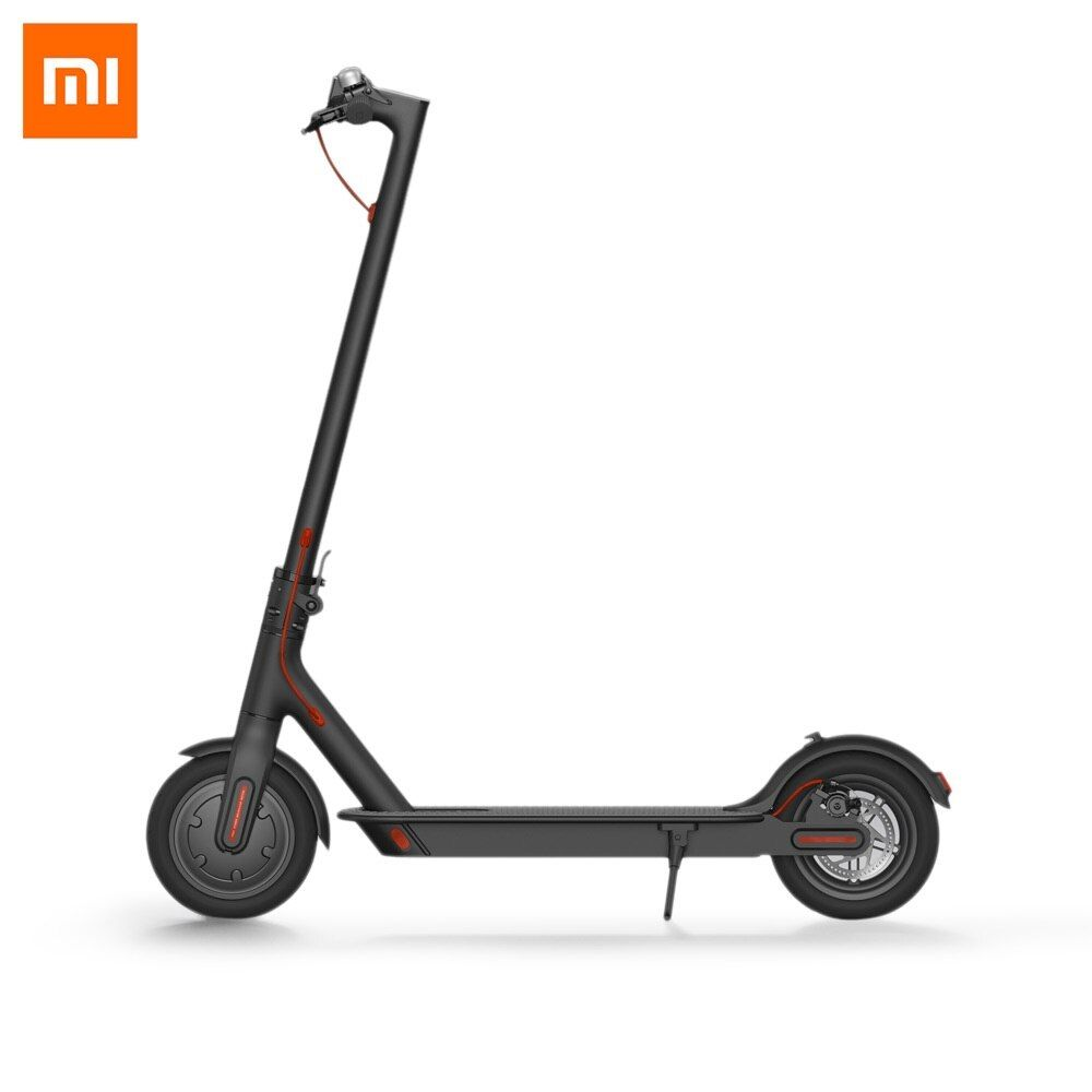 Original Xiaomi M365 Folding Electric Scooter Skateboard E - ABS Kinetic Energy Recovery System Cruise Control Intelligent BMS