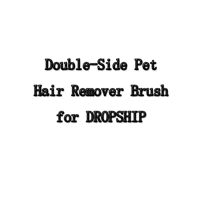Chien Peigne Outil Pet Hair Remover Brosse Chien Chat De Fourrure Brosse Base Double-Côté Meubles de Maison Canapé Vêtements De Nettoyage brosse À charpie