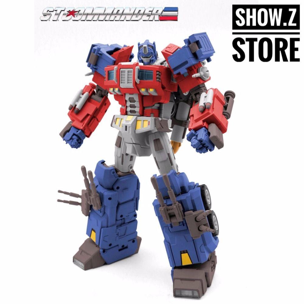 [Show.Z Store] TFC Toys STC-01A Supreme Techtial Commander OP Original Version Transformation Action Figure