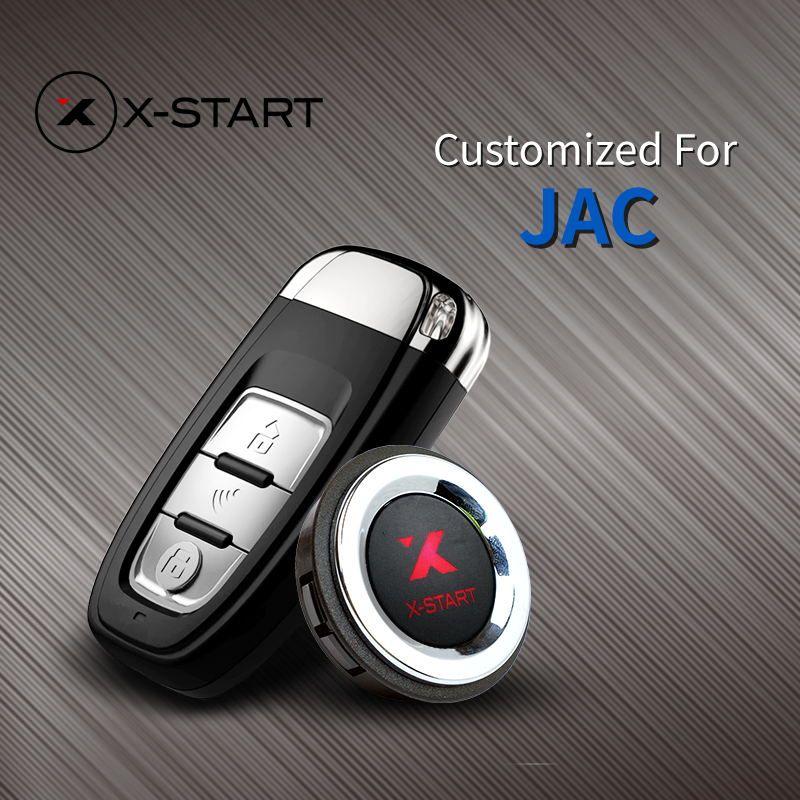 X-starten Keyless Go Smart Key Keyless Entry Remote start Push Botton für JAC S5 S2 S3 M4 iEV5 M3 EV4 EV3 EV7